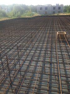 Строительство монолитного фундамента под цокольный этаж