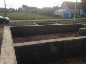 Фундамент под дом и гараж фото