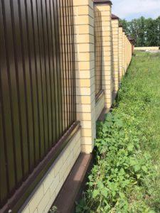 Фундамент под забор Липецк - фото