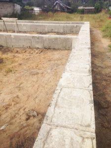 Ленточный фундамент под дом - строительство частного дома фото