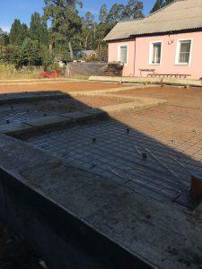 Строительство домов в Липецке - ленточный фундамент фото