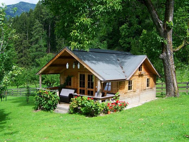 Дом из бруса - фото